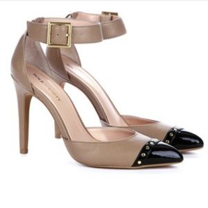 Sole Society So-Abida Ankle Strap Cap Toe Heels
